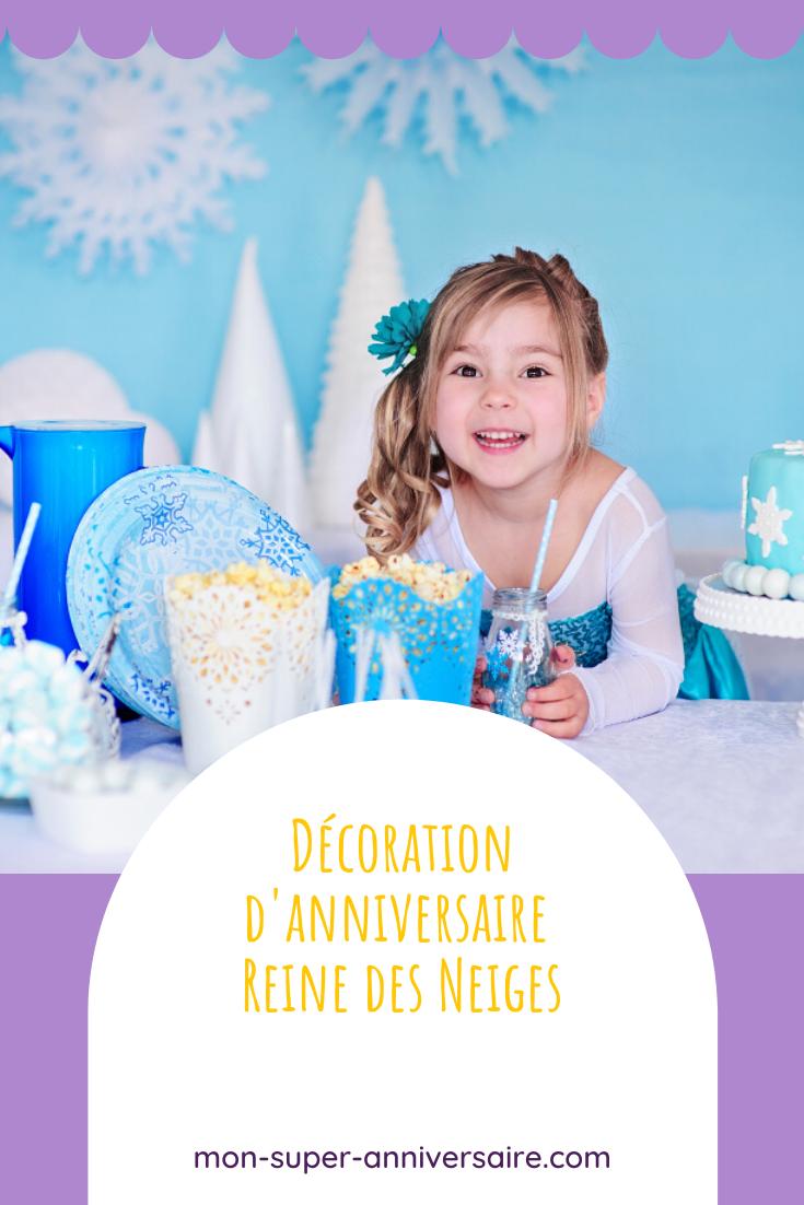 Entre idées, inspiration et tutos, découvre ici comment réaliser la plus belle décoration d'anniversaire Reine des neiges.