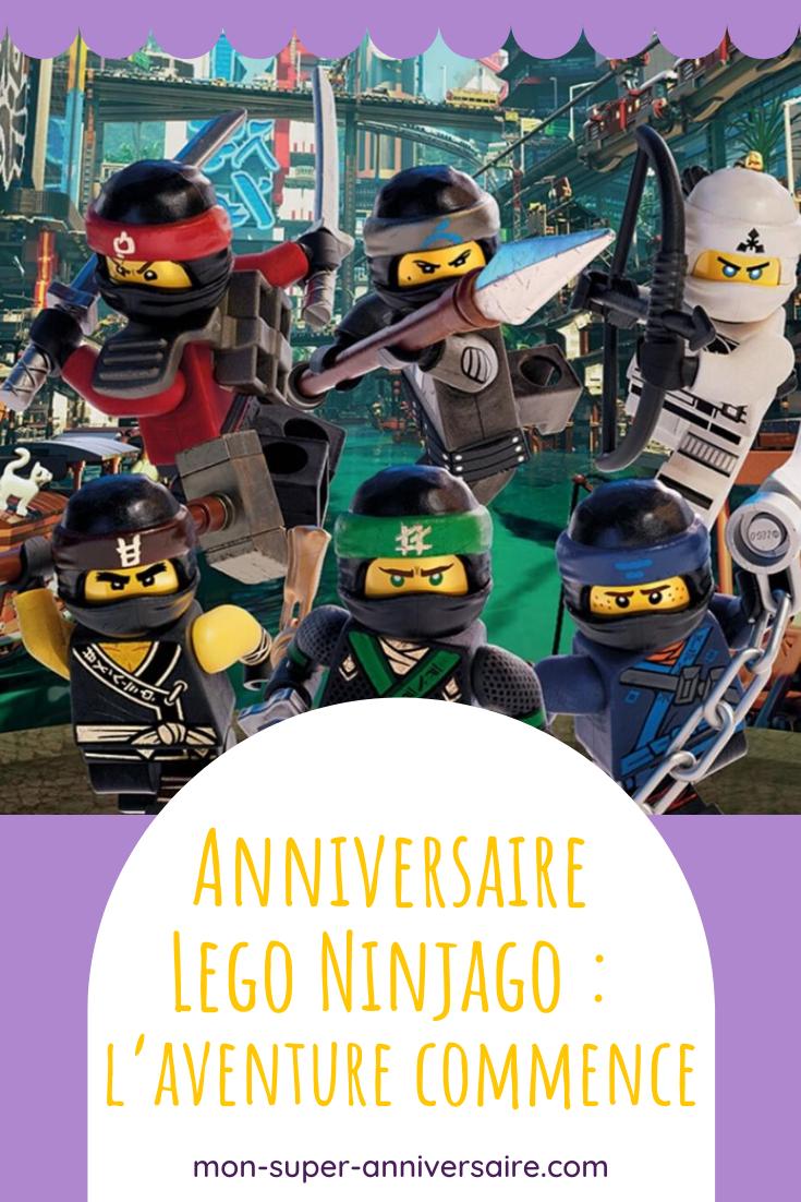 Tu veux organiser une fête d'anniversaire inoubliable sur le thème Lego Ninjago ? Mon-super-anniversaire est là pour t'aider avec des idées originales et faciles