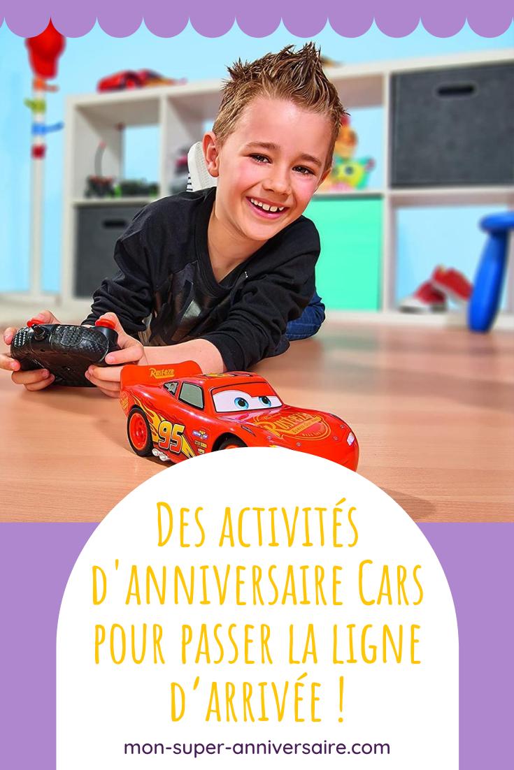 Retrouve tous nos conseils pour organiser des activités et des jeux inoubliables et joyeux lors d'un anniversaire Cars.