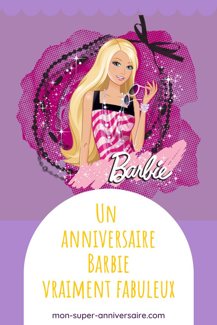 Conseils et astuces pour organiser soi-même un anniversaire Barbie féérique : invitations, décoration, gâteau, activités, cadeaux invités.