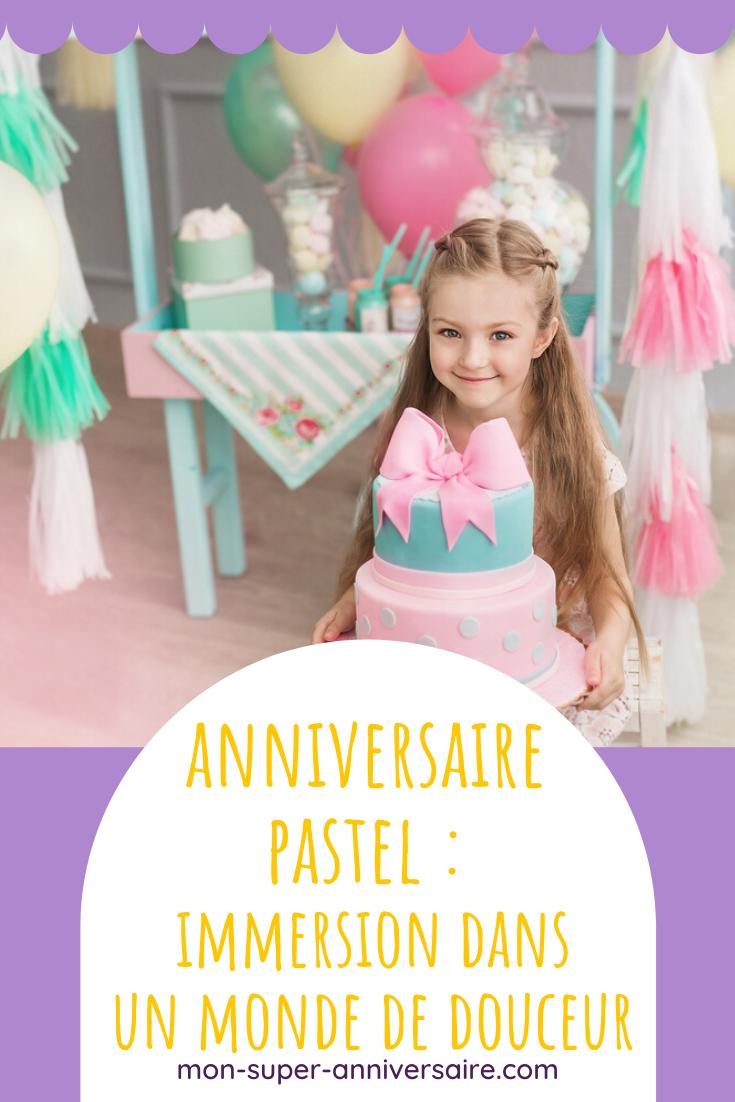 Découvre tous les conseils et astuces indispensables pour organiser un anniversaire pastel inoubliable! Décoration, gâteau, activités, etc.