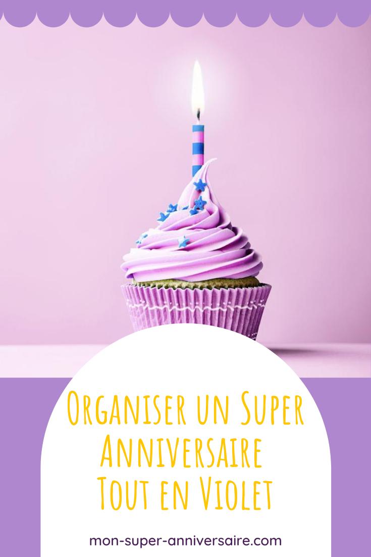 Tu souhaites organiser un super anniversaire autour de la couleur préférée de ton enfant : le violet. Décorations, jeux, gâteau, etc, tu trouveras tout ici !