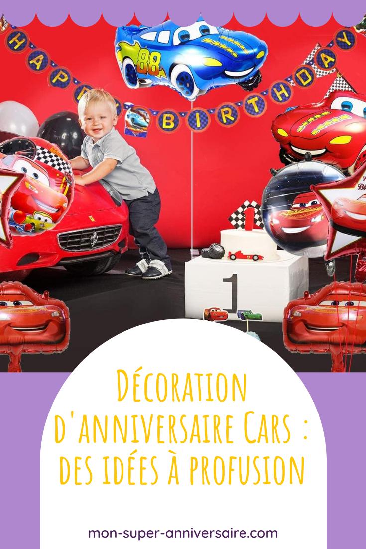 Pour satisfaire les petits champions, une décoration d'anniversaire Cars doit être au top : ambiance, table, déguisement, décorations, etc.