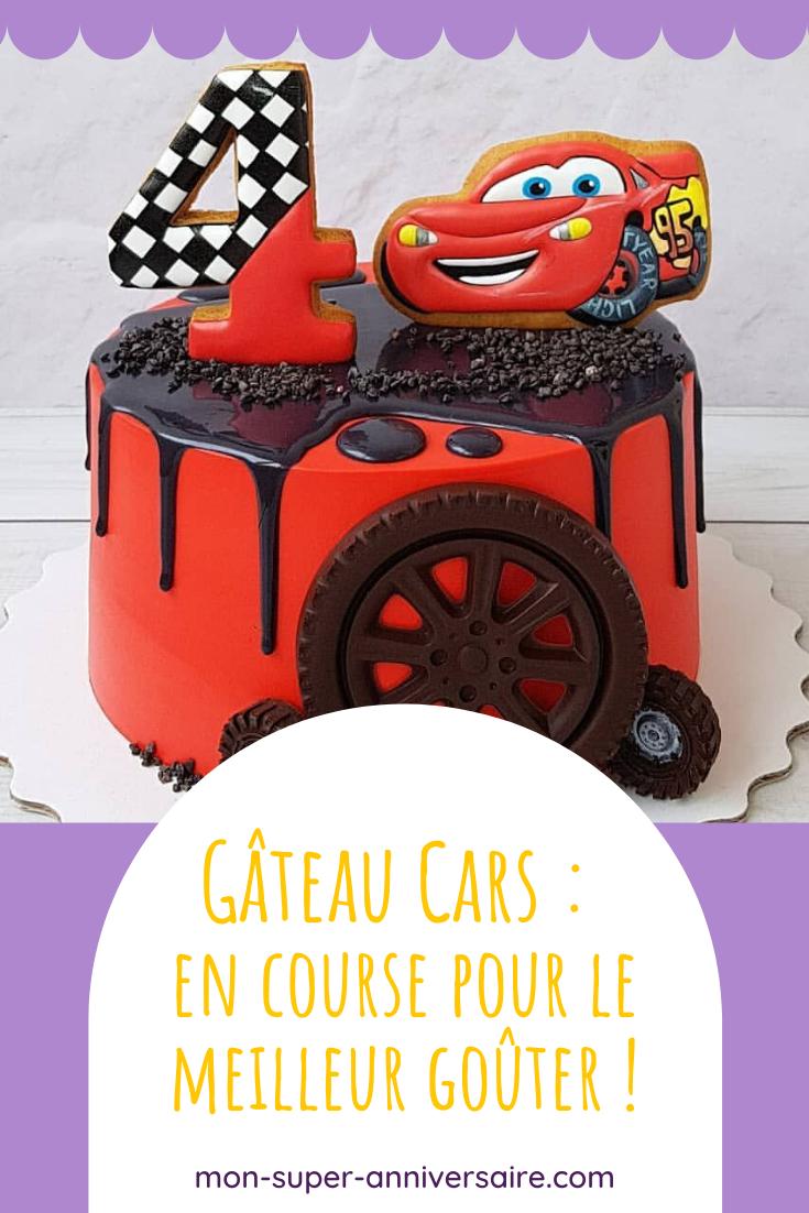 Conseils pour réaliser un buffet d'anniversaire Cars digne des plus grands championnats : friandises, gâteau Cars et décorations.