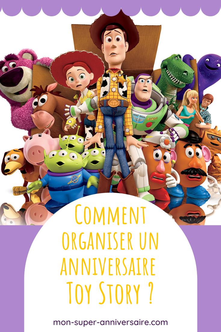 Tu souhaites organiser un anniversaire Toy Story pour faire plaisir à ton enfant? Voici de nombreux conseils pour une fête réussie.