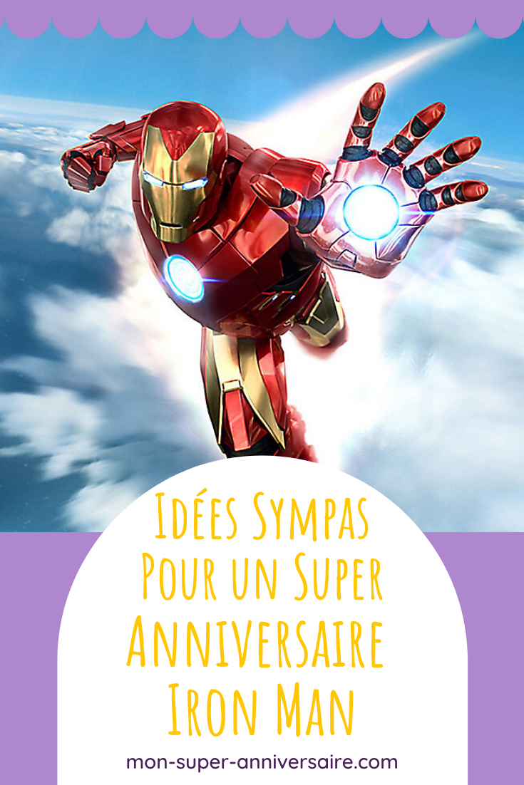 Avec Mon Super Anniversaire, trouve des idées sympas, originales et faciles à réaliser, pour organiser le meilleur anniversaire Iron Man !