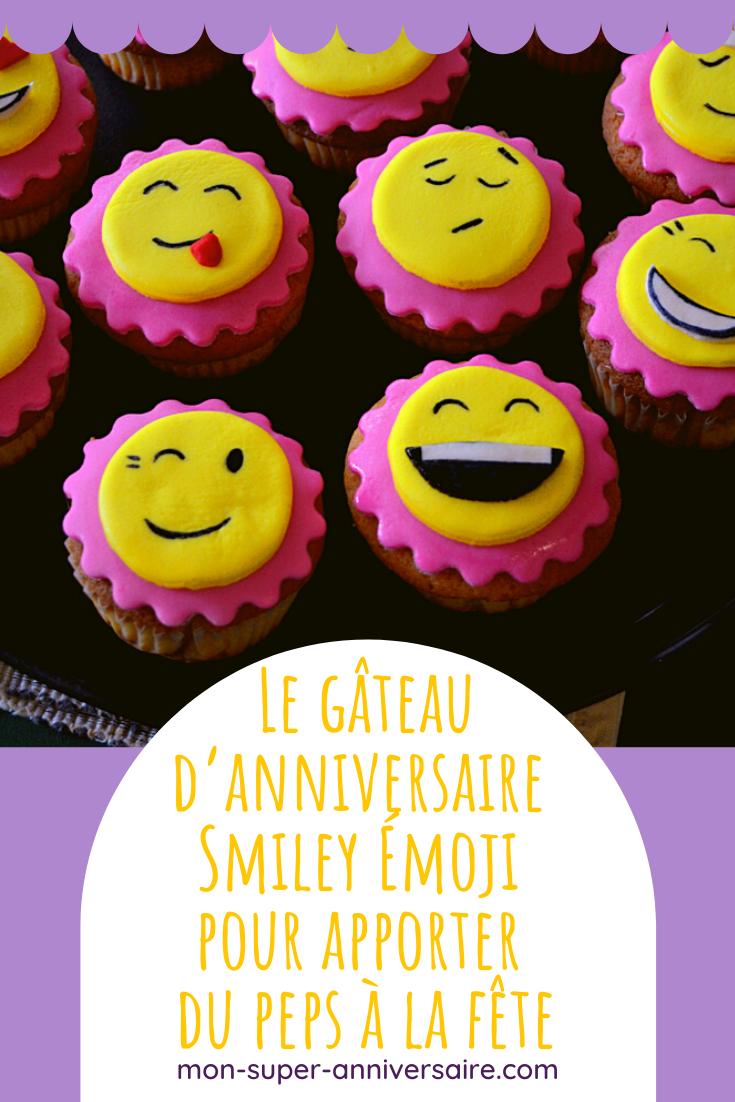 Toutes les astuces pour créer de A à Z une sweet table et un gâteau d'anniversaire Smiley Émoji coloré et complètement dingue !