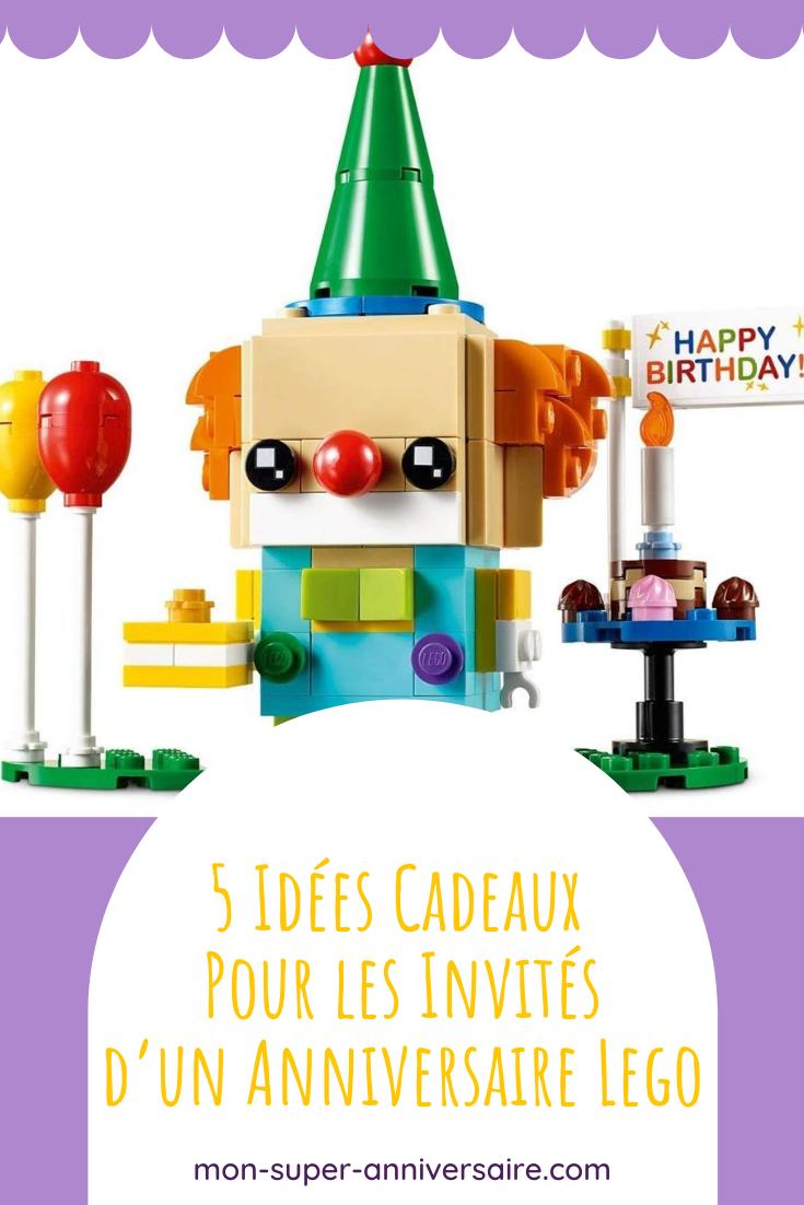 Pour remercier les invités d'être venus fêter un joyeux anniversaire Lego à ton enfant, offre-leur de jolis cadeaux assortis au thème de la journée