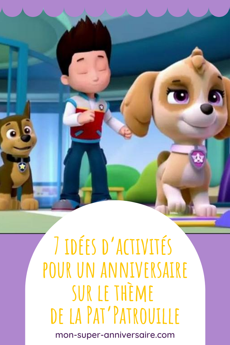 Divertis tes invités d'anniversaire Pat'Patrouille grâce à des activités drôles, animées ou créatives, mais toujours fun.