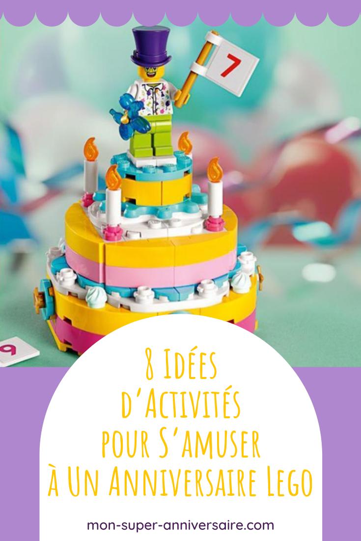 Pour un anniversaire sur le thème Lego réussi, prévois tout plein d'activités et de jeux amusants pour occuper la petite tribu !