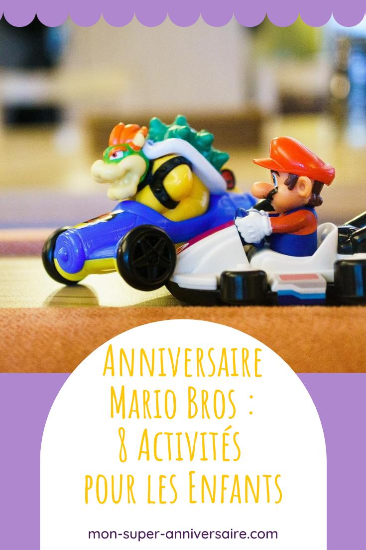 On te propose de découvrir 8 activités amusantes à proposer aux enfants pendant une fête d'anniversaire Mario Bros. De quoi passer un bon moment !