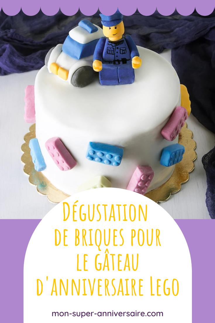 Pour un délicieux goûter d'anniversaire, trouve ici tous les conseils pour préparer un super gâteau d'anniversaire Lego, ainsi que des petits gâteaux !