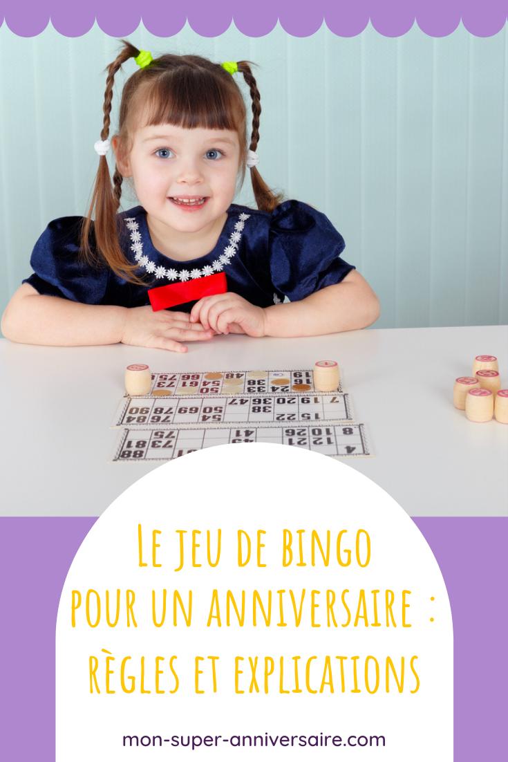 Découvre nos conseils pour organiser un jeu de bingo lors une fête d'anniversaire. Les enfants adorent ce jeu simple et efficace.