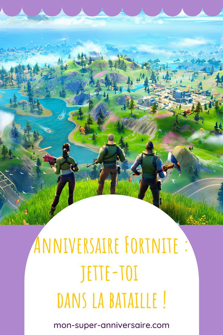 Découvre nos astuces pour organiser un anniversaire sur le thème Fortnite qui épatera les gamers en herbe.