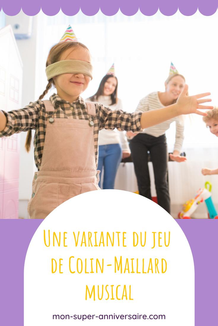 Découvre comment occuper les enfants lors d'une fête d'anniversaire en organisant le célèbre jeu de colin-Maillard musical.