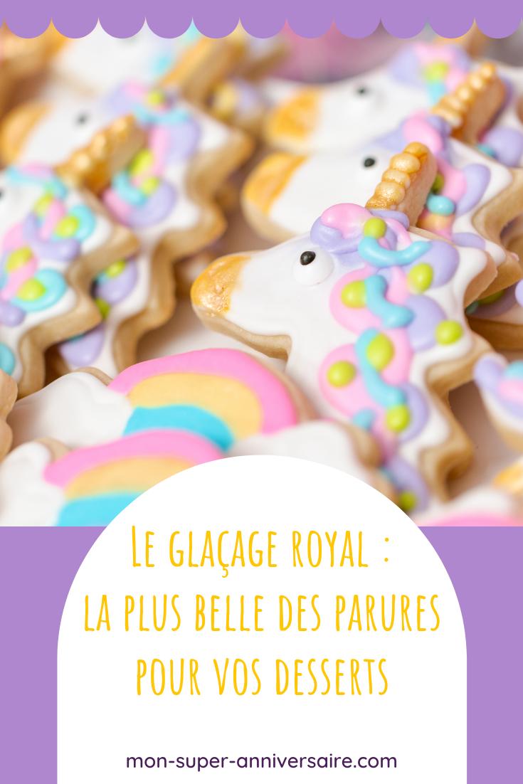 Réalise la recette du glaçage royal pour recouvrir et décorer facilement tes cakes, génoises, cupcakes, etc.