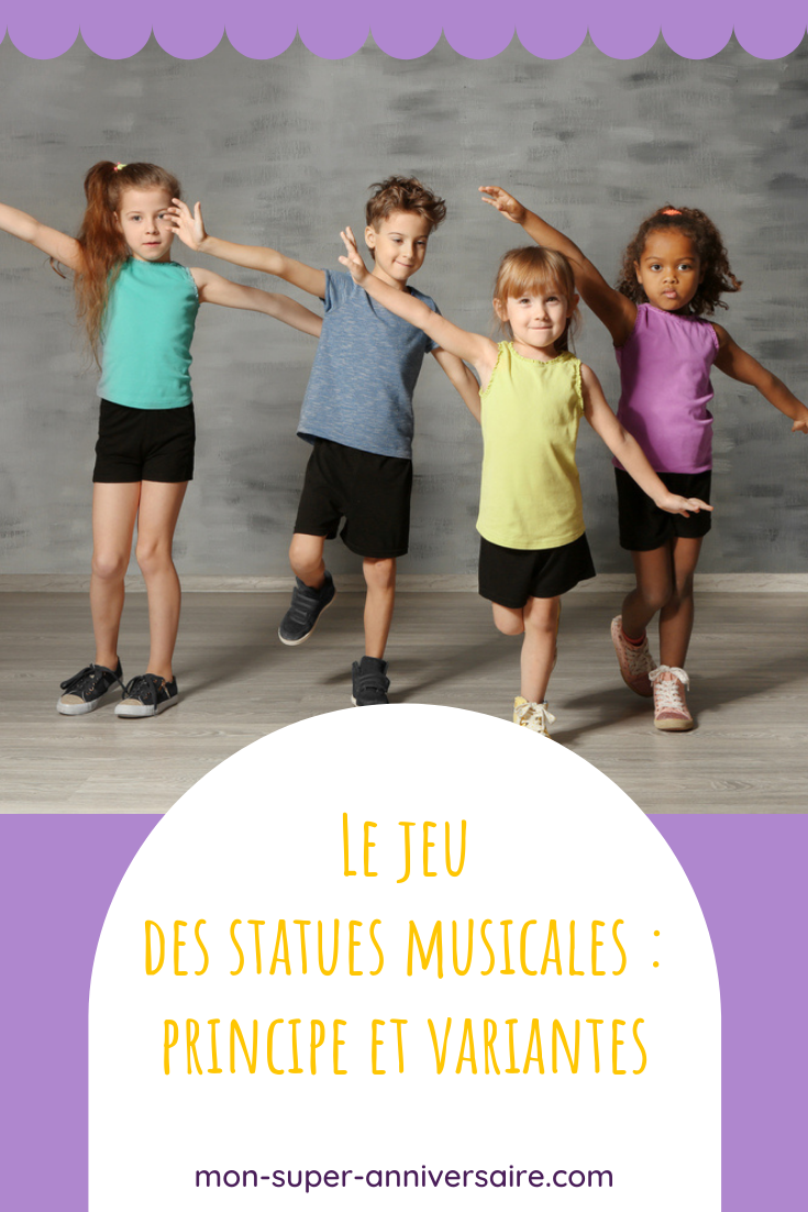 Découvre comment jouer au jeu des statues musicales pour mettre de l'ambiance lors d'une journée d'anniversaire au top !