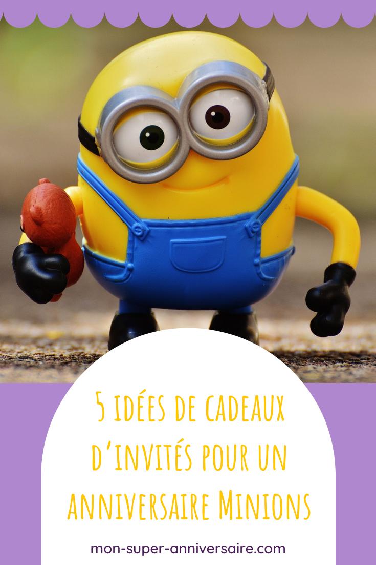 Découvre 5 idées de cadeaux invités à un anniversaire Minions pour se dire poopaye dans la bonne humeur !