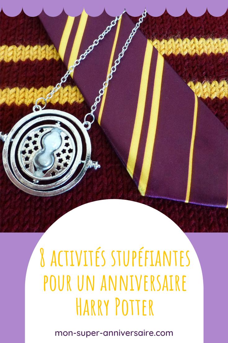 Découvre des idées d'activités d'anniversaire Harry Potter incroyables. Préparer des potions magiques, chasser les horcruxes, pas de repos pour les sorciers!