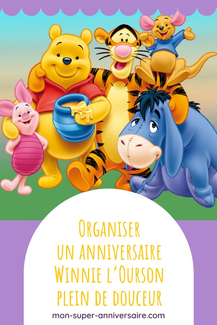 Découvre tous les conseils et astuces indispensables pour organiser un anniversaire Winnie l'Ourson inoubliable! Décoration, gâteau, activités, etc.