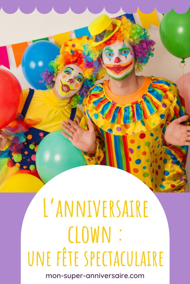Découvre comment organiser un spectaculaire anniversaire clown. Gâteau coloré et activités hilarantes sont au programme!