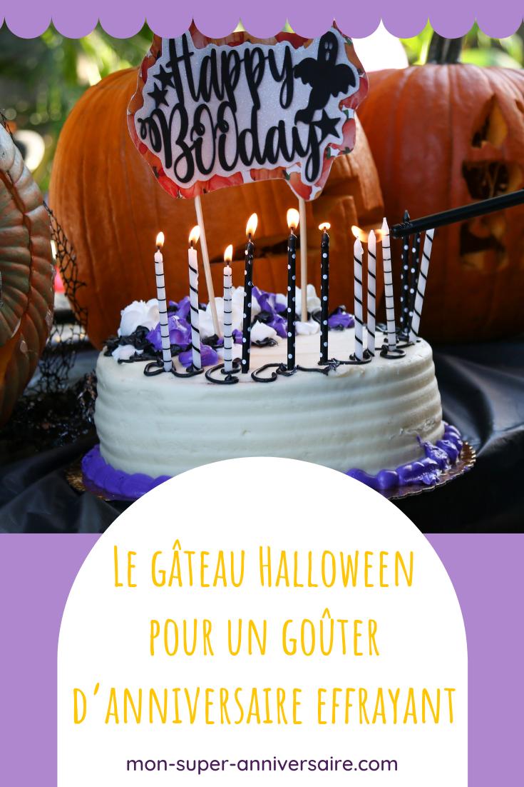 Découvre nos astuces pour réaliser un gâteau d'anniversaire Halloween effrayant! Fais le plein d'idées gourmandes pour concocter une sweet table terrifiante.