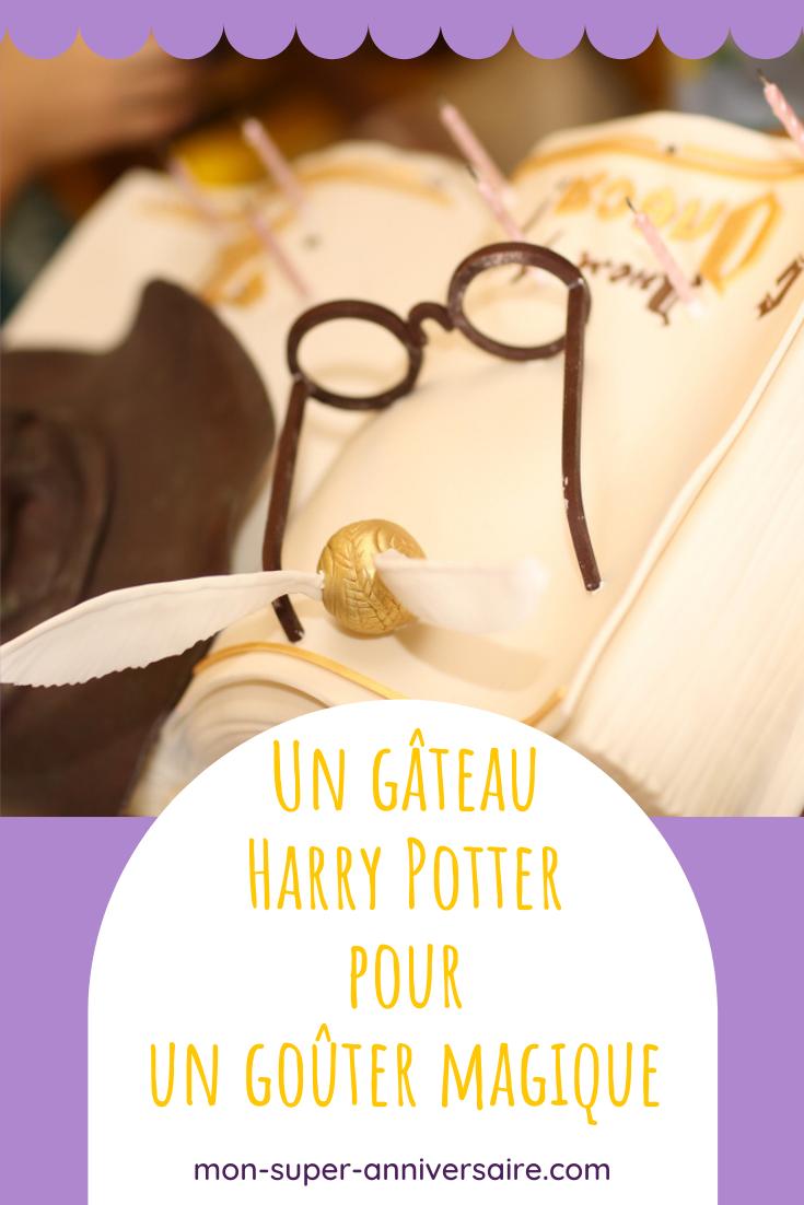 Découvre comment réaliser un gâteau Harry Potter stupéfiant! Fais le plein d'idées gourmandes pour préparer une sweet table enchantée.