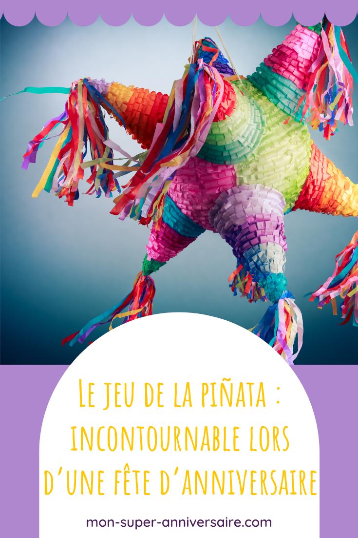 Retrouve nos conseils pour organiser une partie de piñata, un jeu idéal lors d'une fête d'anniversaire.