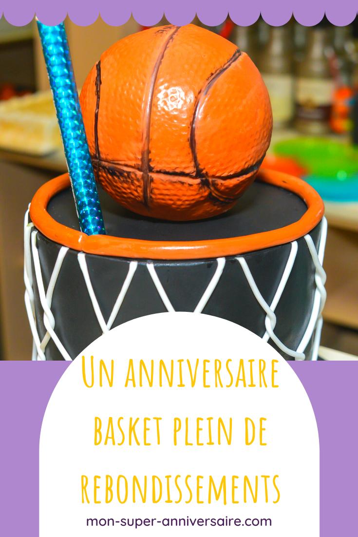 Découvre nos conseils pour réussir un super anniversaire basket. Les invitations, les cadeaux invités, la déco, le gâteau : ce sera parfait.