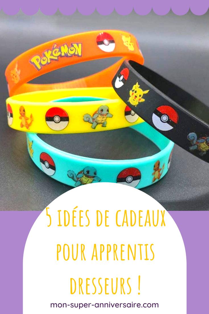 Découvre nos idées-cadeaux pour les invités à un anniversaire Pokémon: de jolis sacs et des surprises qui vont faire de cette fête un moment inoubliable.