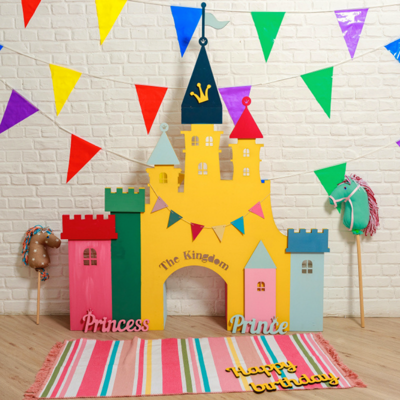 décoration d'anniversaire chevalier
