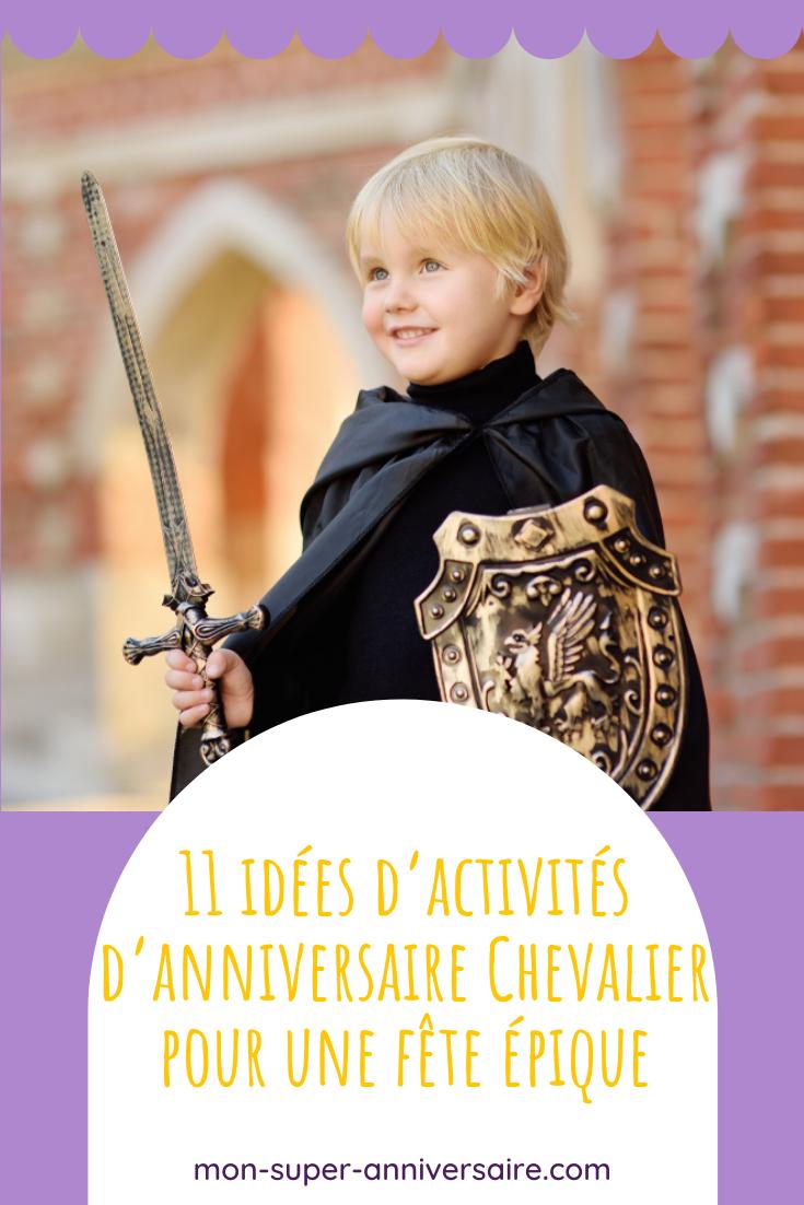 Des idées originales pour savoir comment animer un goûter d'anniversaire Chevalier : jeux créatifs, bricolages magiques, activités ludiques et héroïques.