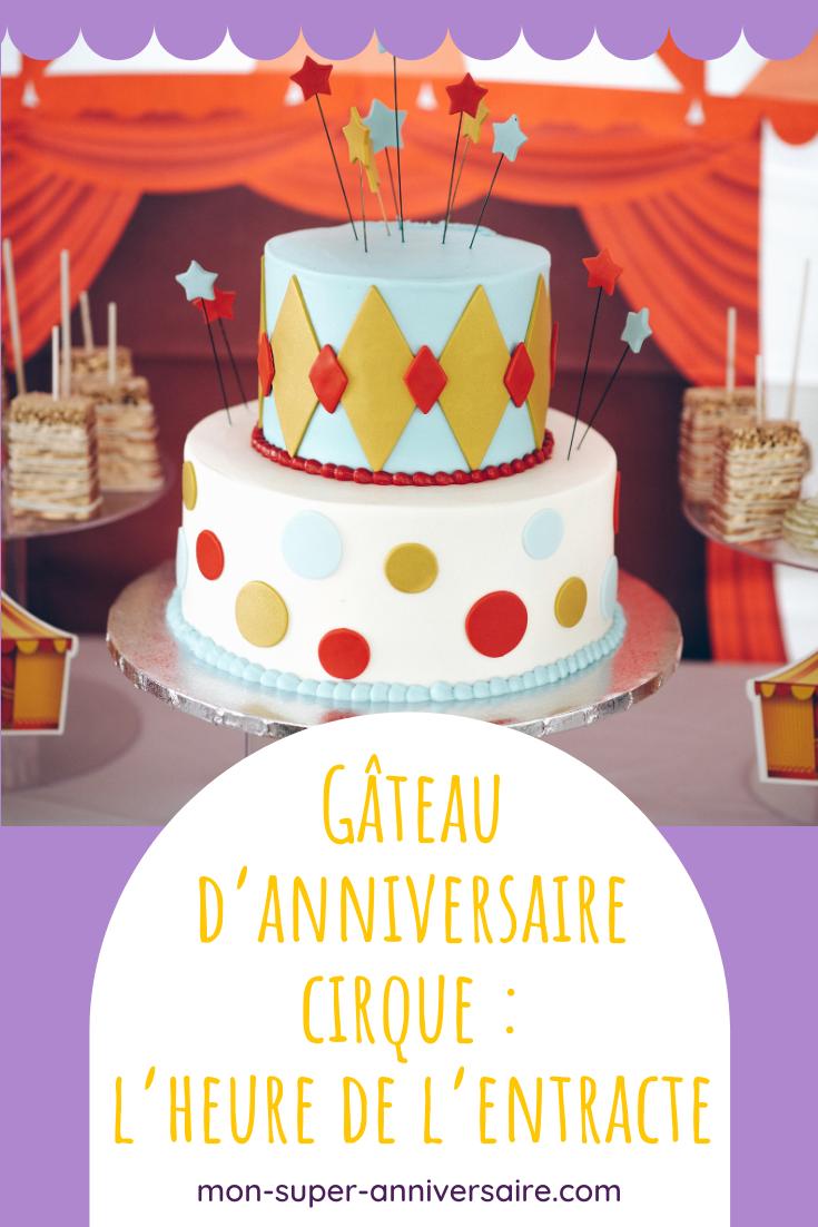 Plein d'astuces, des conseils et toutes nos idées de recettes pour préparer une sweet table et un gâteau d'anniversaire cirque totalement incrrrrroyables !