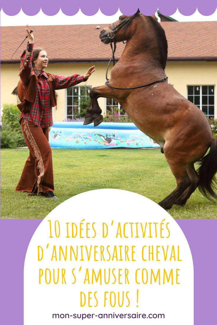 Découvre notre sélection de 10 activités d'anniversaire cheval. Petits jeux, activités manuelles ou créatives, il y en a pour tous les goûts !