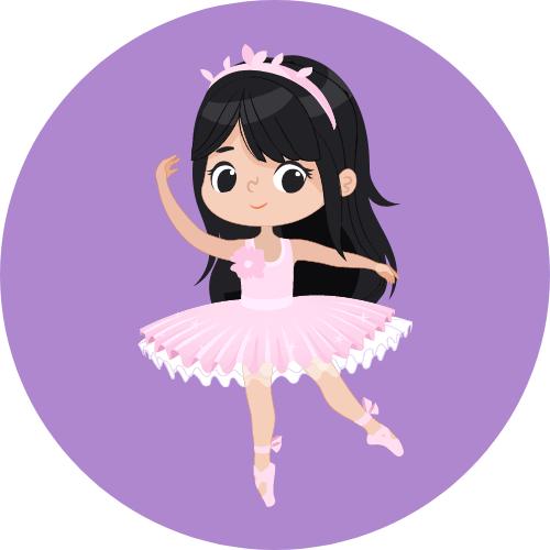 Anniversaire danseuse