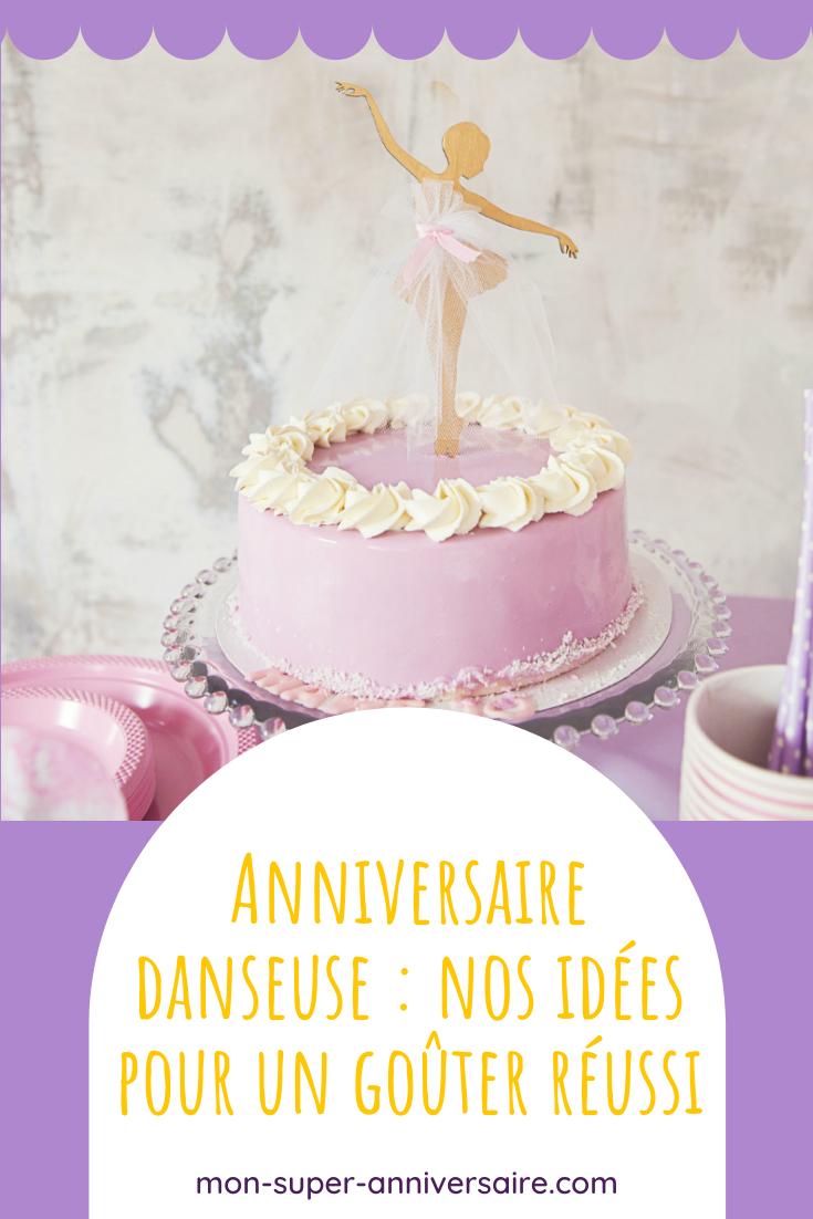 Organise un anniversaire danseuse pour enfant avec nos idées pour les invitations, le gâteau, la sweet table, la déco, les animations et les cadeaux pour les invités.