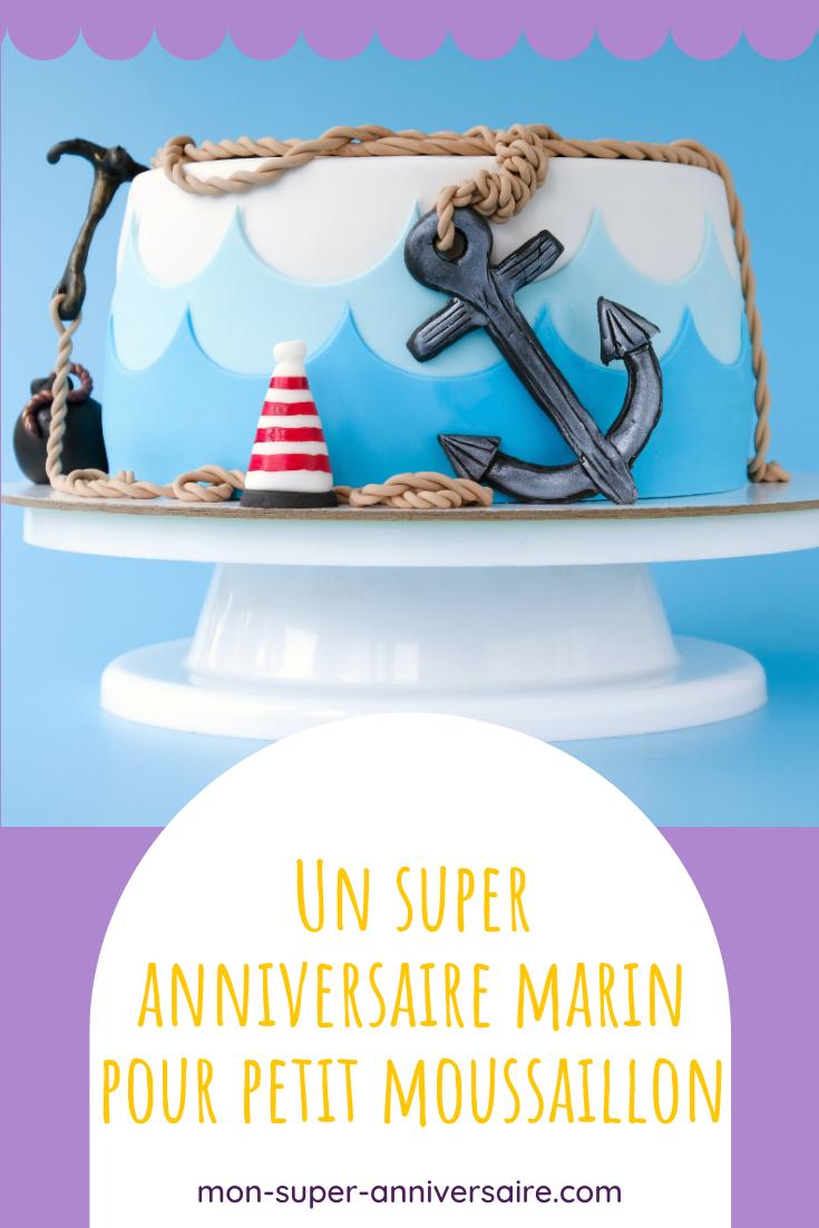 Notre guide pour organiser un anniversaire marin pour enfant de A à Z : invitations, gâteau, décoration, animation et petit cadeaux pour les invités.