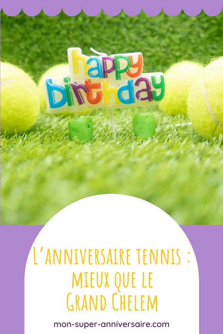 Découvre de nombreuses idées pour préparer un incroyable anniversaire tennis à ton enfant. Invitations, gâteau, activité, tout pour une fête réussie!