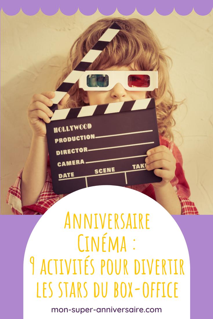 Des activités d'anniversaire Cinéma qui garantiront le succès de ta fête : jeux musicaux, création de film, animations dans le thème, Hollywood party, etc.